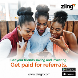 Get Paid for referrals on Ziing